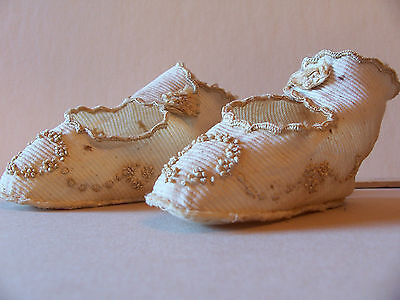 BOOTIES, for best, cotton, early 20th c.