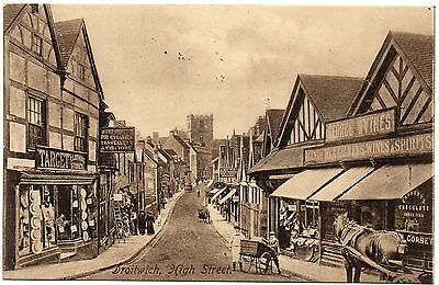 P.C High Street Droitwich Worcester Worcestershire Publisher E Baylis