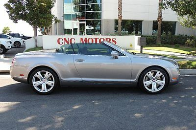 2009 Bentley Continental GT GTC 2009 Bentley Continental GT / GTC Convertible in Blue / 5 in Stock / REDUCED $$