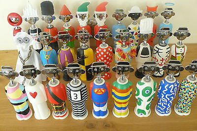 Alessi corkscrew 29 pieces limited edition complete collect. Alessandro Mendini