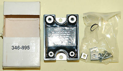 RS 346-895 SOLID STATE RELAY. SWITCH 10A, 240V, 3-32Vdc OPERATION