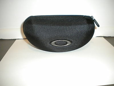 Oakley Sunglass Case - Black w/zipper - For Flak Jacket,Flak 2.0, Half Jacket