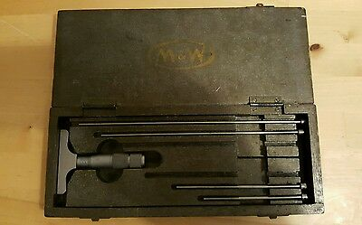 Moore & Wright Depth Micrometer Imperial