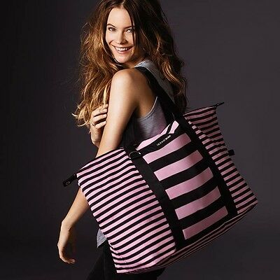 Victoria's Secret Limited Edition Getaway Travel Weekender Duffel Tote Bag XL