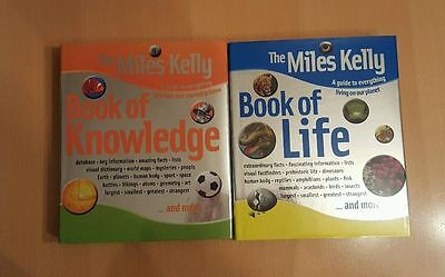 The Miles Kelly Book of Knowledge & Book of Life (Hardback Books)