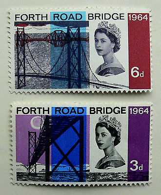 Stamps of Great Britain Set of Forth Road Bridge 1964 mmint