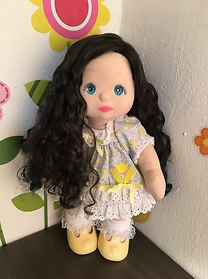 My Child Doll Brunette Sidepart REROOT Gorgeous Combo
