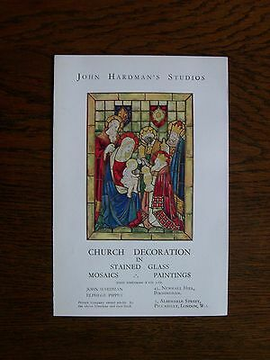 T54 - John Hardman & Co - stained glass window makers - promotional leaflet