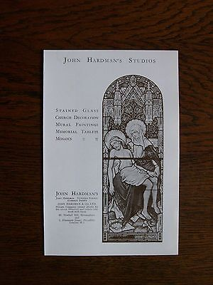 T55 - John Hardman & Co - stained glass window makers - promotional leaflet