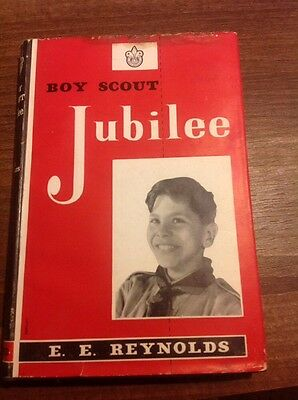Boy Scout Jubilee By E E Reynolds Vintage Scout Book 1957 First Edition