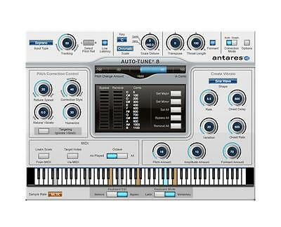 Antares Auto-Tune 8 Pitch and Time Correction Native Edition - AT8NATIVE