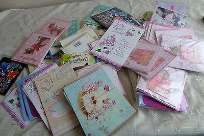 Job Lot Of 100 Birthday Greetings Cards Sealed