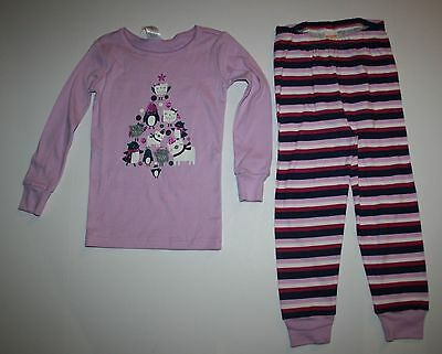 NEW Gymboree Outlet Girl Holiday Gnome Pajamas PJs size 3 4 5 6 7 ...