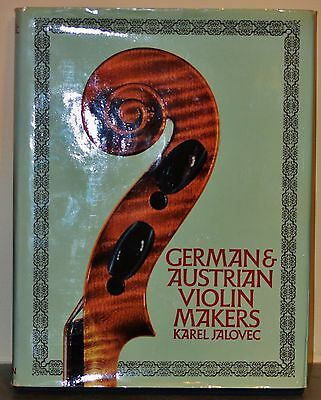 German and Austrian Violin Makers Jalovec 1st edition