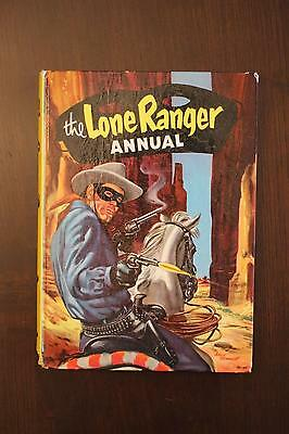 The Lone Ranger Annual (1960) World Distributors (England) Hardcover VG/FN