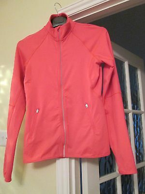 girls sports jacket by H/M FITS 12/14 YEAR OLD CERISE PINK 2 POCKETS NEW