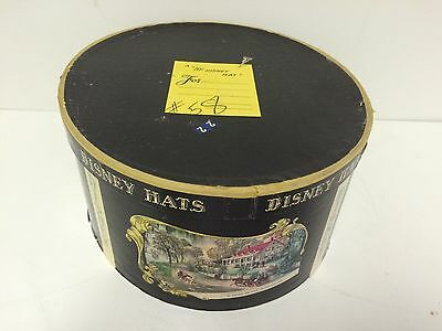 RARE Vintage Mr. Disney Hat Box - Currier & Ives Design