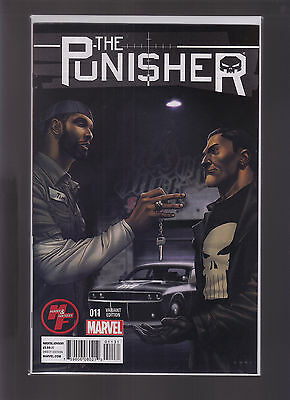 Marvel Comics The Punisher #11 Heroes And Fantasies Exclusive Variant Edition