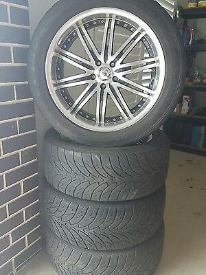 20 inch wheels and tyres