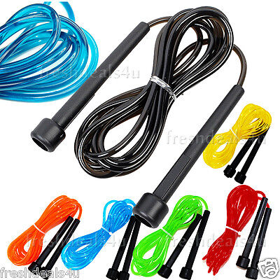 New Skipping Rope Speed Rope Weighted Fitness Exercise Boxing Jump Jumping Gym