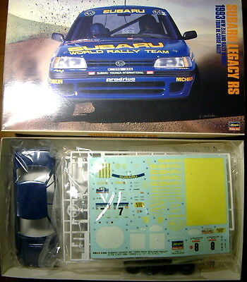 EXTREMELY RARE 1/24 Hasegawa Subaru Legacy RS 93 New Zealand Rally Colin McRae