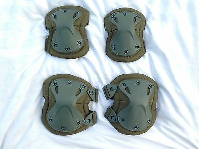 X-TAK Tactical Outdoor Paintball Airsoft - Knee and Elbow Pads