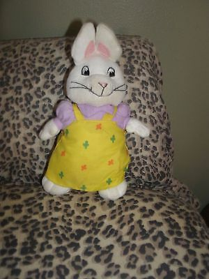 Ty Stuffed Ruby from MAX AND RUBY Plush Animal Toy 7 Inches Doll