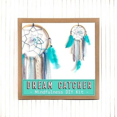 """SALE!!! 6"""" Dream Catcher Mindfulness DIY Kit Gift - Make Your Own Creative Gift"""