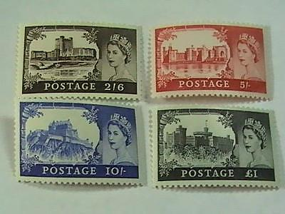 Great Britain # 525-528------Mint/never  Hinged--Complete Set--Qeii--1967-68