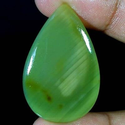 25.45Cts. Attractive ! Natural Imperial Jasper Pear Cabochon Loose Gemstones