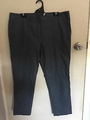 New With Tags - SPORTSCRAFT Size 16 Or XL Grey Cropped Pants