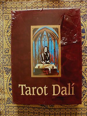Salvador Dali Tarot Cards Jubilee Set Numbered Ltd Edition Of 1000,  New Sealed