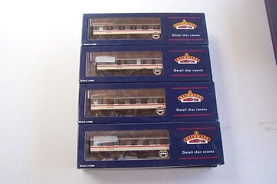BACHMANN 4 Intercity Coaches 39-030,055,155 &180  Deceased Estate  FREE POST