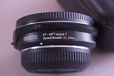 Metabones Canon EF to MicroFourThirdsT XL 0.64x Speed Booster
