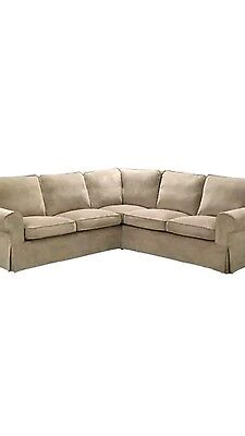 Ikea Ektorp Sofa Cover Only 2+2 Vellinge Beige $309.00 Rrp$409.00 New But No Box