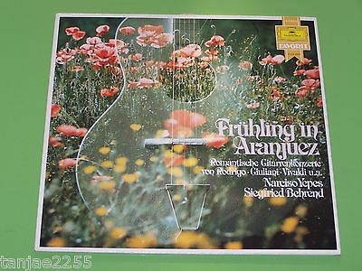 Frühling in Aranjuez - Narciso Yepes Behrend - Gitarrenkonzerte - DGG Favorit LP