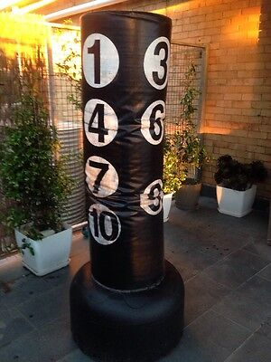 Free Standing Boxing Numbered Punching Bag Punch Freestanding