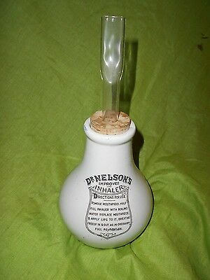 Vintage Style Dr Nelsons Improved Inhaler With Cork And Mouthpiece 3