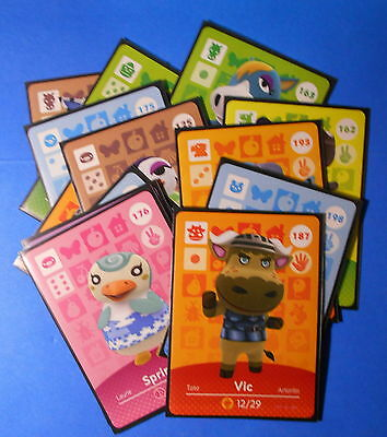 Animal Crossing Happy Home Designer amiibo cards: choose from series 2
