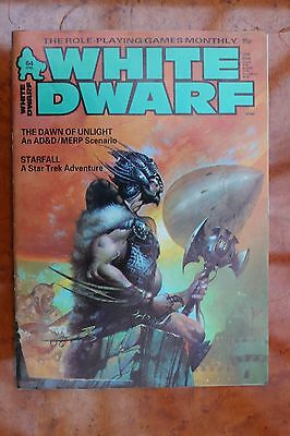 Classic WHITE DWARF issue 64 - UK Role playing magazine Apr 1985 AD&D MERP