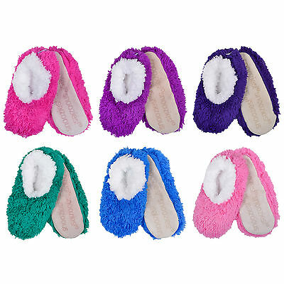 Ladies OMG Cosy Comfy Snoozies Sherpa Fleece Slippers Womens Gift - 6 Colours