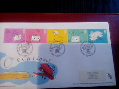 ROYAL MAIL  FDC - Occasions Greetings Stamps