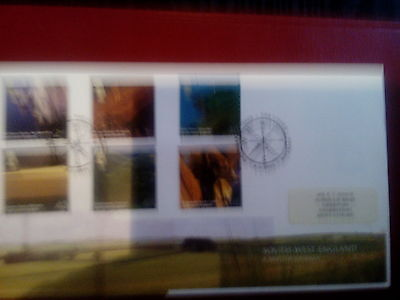 ROYAL MAIL  FDC - A British Journey,South West England
