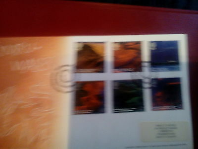 ROYAL MAIL  FDC - A British Journey,Wales
