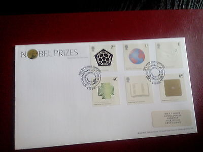 ROYAL MAIL  FDC - Centenary of Noble Prizes