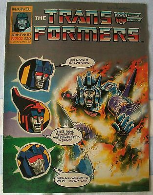 Transformers UK Comic Issue 102 Fallen Angel Part 2