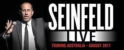 Jerry Seinfeld Sydney 1-4 Tickets Section 13, 9:30pm P1