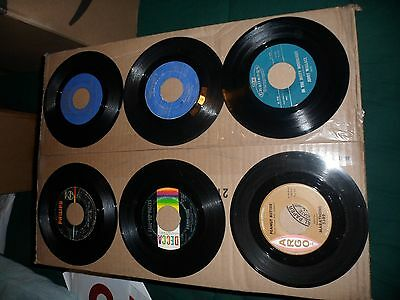 Lot of Six 45 RPM records great oldies