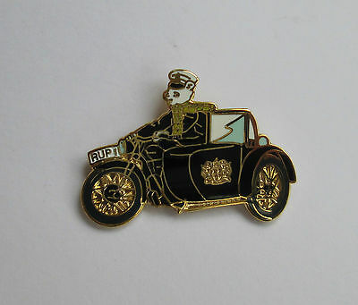 Rupert Police Charity Pin Badge - Motorcycle 2010 Limited Edition