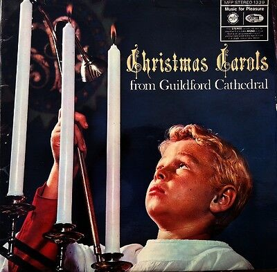 The Guildford Cathedral Choir  ‎– Christmas Carols From Guildford Cathedral